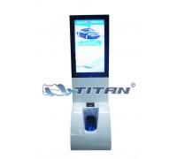 Автомат для надевания бахил TITAN ADV c ЖК дисплеем .